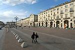 Piazza Vittorio Veneto.