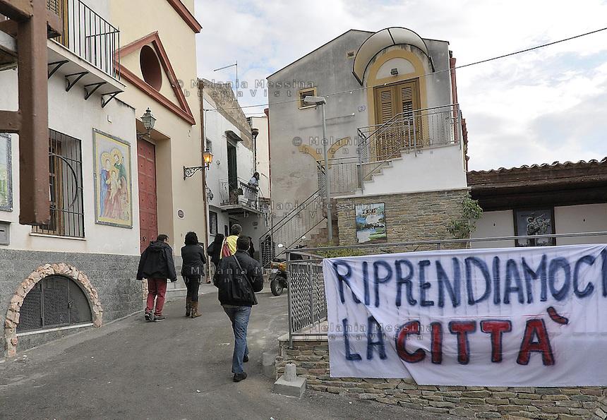 Danisinni neighborood a deprived suburb of Palermo.<br /> Danisinni quartiere periferico e degradato di Palermo.