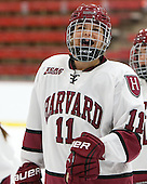 Robyn White (Harvard - 11) - The Harvard University Crimson defeated the visiting Princeton University Tigers 4-0 on Saturday, October 26, 2013, at Bright-Landry Hockey Center in Cambridge, Massachusetts.