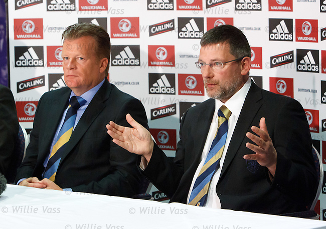 Dutchman Mark Wotte is appointed to the role of Scottish FA Performance Director alongside National Coach Craig Levein