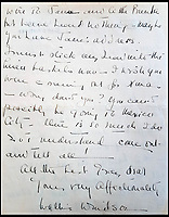 Unseen letter from unhappy Wallis Simpson