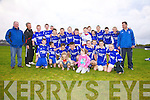St Mary's/Foilmore U14's are the South Kerry Champions after defeating St Michaels/Foilmore on Saturday at The Con Keating Park in Cahersiveen.