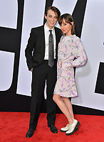 Dylan Riley Snyder &amp; Allisyn Ashley Arm at the premiere for &quot;Blockers&quot; at the Regency Village Theatre, Los Angeles, USA 03 April 2018<br /> Picture: Paul Smith/Featureflash/SilverHub 0208 004 5359 sales@silverhubmedia.com