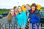 Pictured at the start of the first Brendan McEvoy memorial Mount Brandon walk in aid of Kerry Hospice were l-r: Corrie Rogers, Shauna O'Sullivan, Margo Rogers, with Michelle and Marian McCarthy.