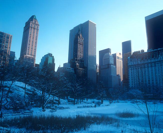 Winter, Central Park, New York, New York