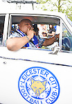 Leicester city fan his car at the Barclays Premier League match at the King Power Stadium Leicester. Photo credit should read: Nathan Stirk/Sportimage<br /> <br /> <br /> <br /> <br /> <br /> <br /> <br /> <br /> <br /> <br /> <br /> <br /> <br /> <br /> <br /> <br /> <br /> <br /> <br /> <br /> <br /> <br /> <br /> <br /> <br /> <br /> <br /> <br /> <br /> <br /> <br /> - Newcastle Utd vs Tottenham - St James' Park Stadium - Newcastle Upon Tyne - England - 19th April 2015 - Picture Phil Oldham/Sportimage