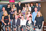 8608-8612.18TH BASH: Corey McConnell, Caherleaheen, Tralee (seated centre) enjoying his 18th birthday bash last Saturday night in the Abbey Inn, Tralee, with many family and friends.