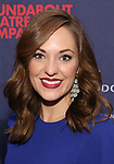 """Laura Osnes attends the Broadway Opening Night Celebration for the Roundabout Theatre Company production of """"Apologia"""" on October 16, 2018 at the Laura Pels Theatre in New York City."""
