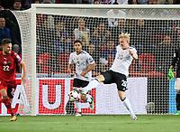 Julian Brandt (Deutschland Germany) klaert - 01.09.2017: Tschechische Republik vs. Deutschland, Eden Arena