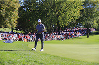 Raffa Cabrera-Bello (Team Europe) during Sunday Singles matches at the Ryder Cup, Hazeltine National Golf Club, Chaska, Minnesota, USA. 02/10/2016<br /> Picture: Golffile | Fran Caffrey<br /> <br /> <br /> All photo usage must carry mandatory copyright credit (&copy; Golffile | Fran Caffrey)