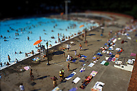 A pool in Astoria Queens, New York Summer 2003