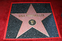 LOS ANGELES - OCT 28:  Lina Wertmuller Star at the Lina Wertmuller Star Ceremony on the Hollywood Walk of Fame on October 28, 2019 in Los Angeles, CA