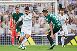 during the La Liga 2017-18 match between Real Madrid and Real Betis at Estadio Santiago Bernabeu on 20 September 2017 in Madrid, Spain. Photo by Diego Gonzalez / Power Sport Images