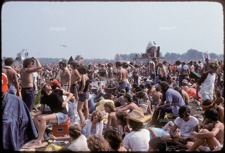 As they Meet by Surprize, Deadheads and Friends of Mine on our way into The Grateful Dead Concert at Raceway Park, Englishtown NJ on 3 September 1977. Labor Day Weekend and on The Road into the Show.