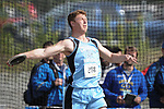 1281<br /> <br /> Chugiak&rsquo;s Forest Perish in the discus finals.  Photo for the Star by Michael Dinneen
