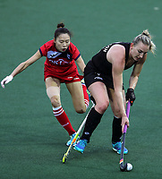 Liz Thompson during the World Hockey League match between New Zealand and Korea. North Harbour Hockey Stadium, Auckland, New Zealand. Saturday 18 November 2017. Photo:Simon Watts / www.bwmedia.co.nz