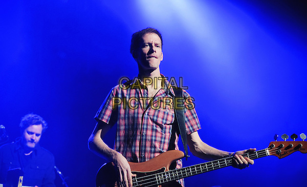 HAMILTON, ON - FEBRUARY 1  Jim Creeggan of Barenaked Ladies performs on stage at Hamilton Place Theatre. <br /> CAP/ADM/BPC<br /> &copy;Brent Perniac/AdMedia/Capital Pictures