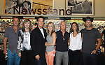 """Days Of Our Lives - Kristian Alfonso, Lauren Koslow, Melissa Reeves, Greg Vaughan, Drake Hogestyn, Wally Kurth and Greg Meng (co-executive producer and author of this book) meet the fans as they sign """"Days Of Our Lives Better Living"""" on September 27, 2013 at Books-A-Million in Nashville, Tennessee. (Photo by Sue Coflin/Max Photos)"""