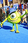 LOS ANGELES - JUN 17: Mike Wazowski at The World Premiere for 'Monsters University' at the El Capitan Theater on June 17, 2013 in Los Angeles, California