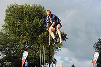 FIERJEPPEN: BUITENPOST: 12-07-2017, FLB topklasse wedstrijd, PR Wietse Nauta, 18.47 meter, ©Martin de Jong