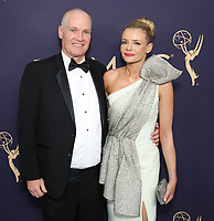 LOS ANGELES - SEPTEMBER 22: CEO of FOX Television Stations Jack Abernethy (L) and Rosie Abernethy attend the 71st Primetime Emmy Awards at the Microsoft Theatre on September 22, 2019 in Los Angeles, California. (Photo by Brian To/Fox/PictureGroup)