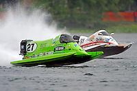 Carlos Mendana (#27) and Jimmie Merleau (#69)     (Formula 1/F1/Champ class)