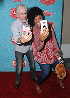 """16 July 2016 - Beverly Hills, California. Carlos Alazaraqui, Yvette Nicole Brown. Arrivals for the Los Angeles VIP screening for Disney's """"Elena of Avalor"""" held at Paley Center for Media. Photo Credit: Birdie Thompson/AdMedia"""