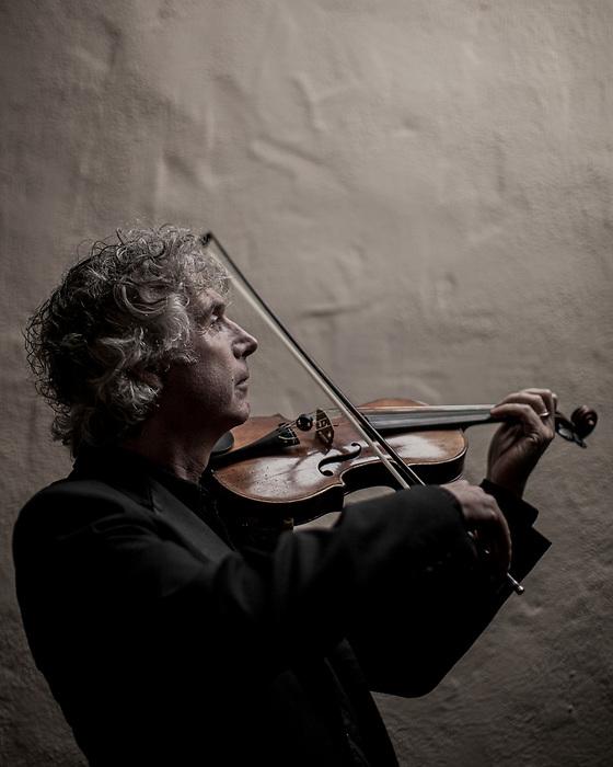 Carmel Bach Festival concertmaster Peter Hanson.