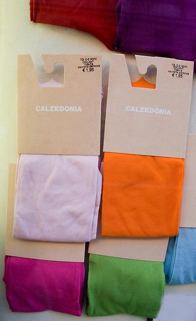 tights, Calzadonia Clothing Store, Rome, Italy