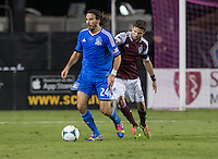 Santa Clara, California - Saturday, October 9, 2013: San Jose Earthquakes defeated Colorado Rapids 1 - 0 at Buck Shaw Stadium