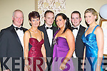 Florence McCarthy, Maureen McCarthy, Florence McCarthy Jnr, Alanna Quinn, Padraig McCarthy and Louise Twomey Kenmare all dressed up for the New Years Eve ball in the Malton Hotel Killarney on Saturday night..