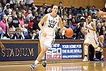 20 December 2011: Duke's Haley Peters. The Duke University Blue Devils defeated the University of North Carolina Wilmington Seahawks 107-45 at Cameron Indoor Stadium in Durham, North Carolina in an NCAA Division I Women's basketball game.