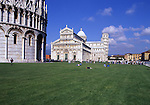 Europe, ITA, Italy, Tuscany, Pisa, Piazza del Duomo, Cathedral and the Leaning tower....[ For each utilisation of my images my General Terms and Conditions are mandatory. Usage only against use message and proof. Download of my General Terms and Conditions under http://www.image-box.com or ask for sending. A clearance before usage is necessary...Material is subject to royalties. Each utilisation of my images is subject to a fee in accordance to the present valid MFM-List...Contact | archive@image-box.com | www.image-box.com ]