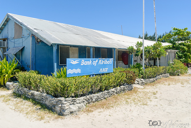 The Bank of Kiribati in the London on the island of Kiritimati in Kiribati.