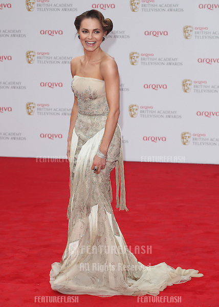 Kara Tointon arriving for the TV BAFTA Awards 2013, Royal Festival Hall, London. 12/05/2013 Picture by: Alexandra Glen / Featureflash