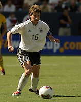 Bettina Weigmann, Germany 2-1 over Sweden at the  WWC 2003 Championships.