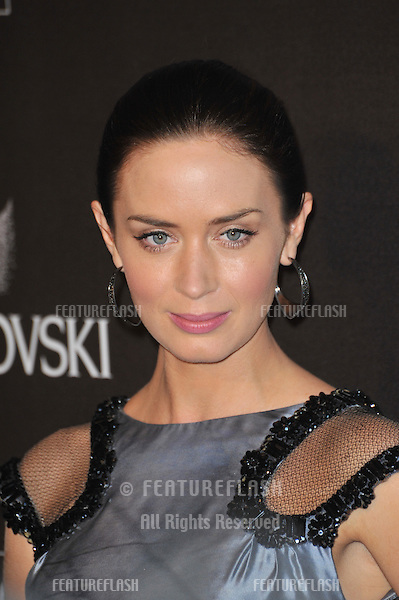 Emily Blunt at the 12th Annual Costume Designers Guild Awards at the Beverly Hilton Hotel..February 25, 2010  Beverly Hills, CA.Picture: Paul Smith / Featureflash