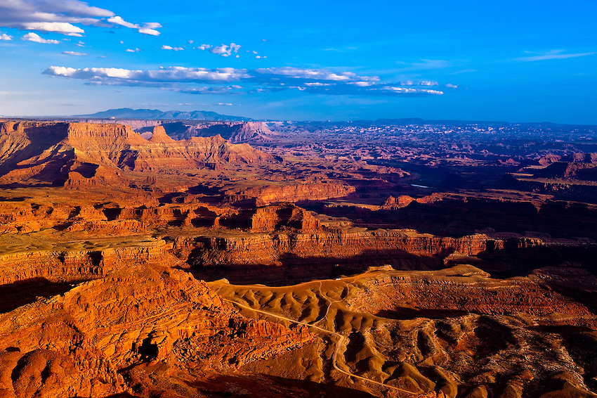 Dead Horse Point State Park, near Canyonlands National Park, outside Moab, Utah USA