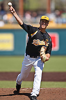 Tim Kelley (36) April 10th, 2010; Southern Illinois vs Wichita State University at Eck Stadium in Wichita, Ks. Photo by: William Purnell/Four Seam Images