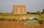 Home in converted martello tower at the coastal hamlet of Shingle Street, Suffolk, England