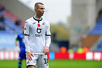 Bersant Celina of Swansea City during the Sky Bet Championship match between Wigan Athletic and Swansea City at The DW Stadium in Wigan, England, UK. Saturday 2 November 2019