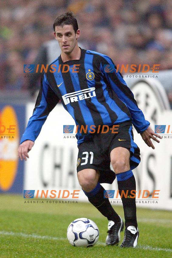 MILANO 25/11/2003 <br /> Champions League Inter Arsenal 1-5<br /> Jeremie Brechet (Inter)<br /> Photo Andrea Staccioli Insidefoto