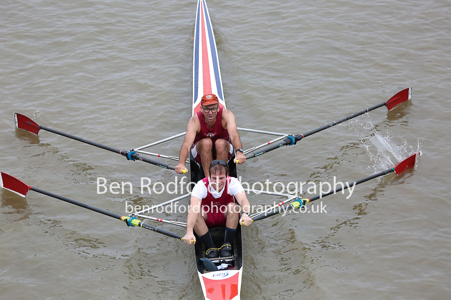 Crew: 200   MAR-ROBERTSON    Marlow Rowing Club    Op Supported Adaptive 2x <br /> <br /> Pairs Head 2017<br /> <br /> To purchase this photo, or to see pricing information for Prints and Downloads, click the blue 'Add to Cart' button at the top-right of the page.