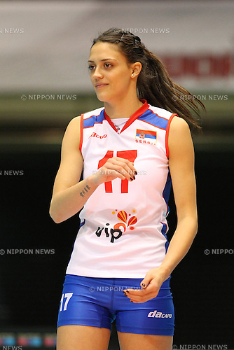 Veljkovic Stefana (SRB), .NOVEMBER 18, 2011 - Volleyball : .FIVB Women's World Cup 2011 .4th Round .between Algeria 0-3 Serbia .at Tokyo Metropolitan Gymnasium, Tokyo, Japan. .(Photo by YUTAKA/AFLO SPORT) [1040]