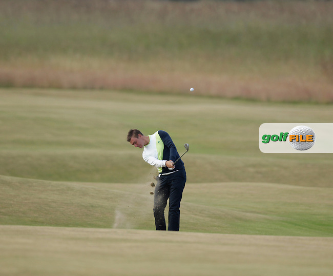 Ben Stow (ENG) during round one of  The 142th Open Championship Muirfield, Gullane, East Lothian, Scotland 18/7/2013<br /> Picture Eoin Clarke www.golffile.ie: