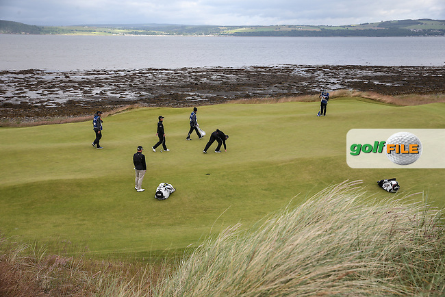 View of the 10th green during the First Round of the 2016 Aberdeen Asset Management Scottish Open, played at Castle Stuart Golf Club, Inverness, Scotland. 07/07/2016. Picture: David Lloyd | Golffile.<br /> <br /> All photos usage must carry mandatory copyright credit (&copy; Golffile | David Lloyd)