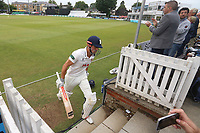 Alastair Cook of Essex leaves the field having been dismissed for 193 during Essex CCC vs Middlesex CCC, Specsavers County Championship Division 1 Cricket at The Cloudfm County Ground on 28th June 2017