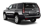 Car pictures of rear three quarter view of a 2015 Cadillac Escalade Premium 5 Door SUV 2WD Angular Rear