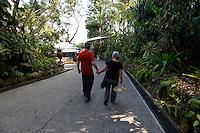 Lunch stop en route to Puerto Caldera, Costa Rica, March 10, 2013.