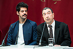"""XXX during the presentation of the new production of the Spanish Theater """"Arte Nuevo""""  at spanish theater in Madrid, February 16, 2016<br /> (ALTERPHOTOS/BorjaB.Hojas)"""